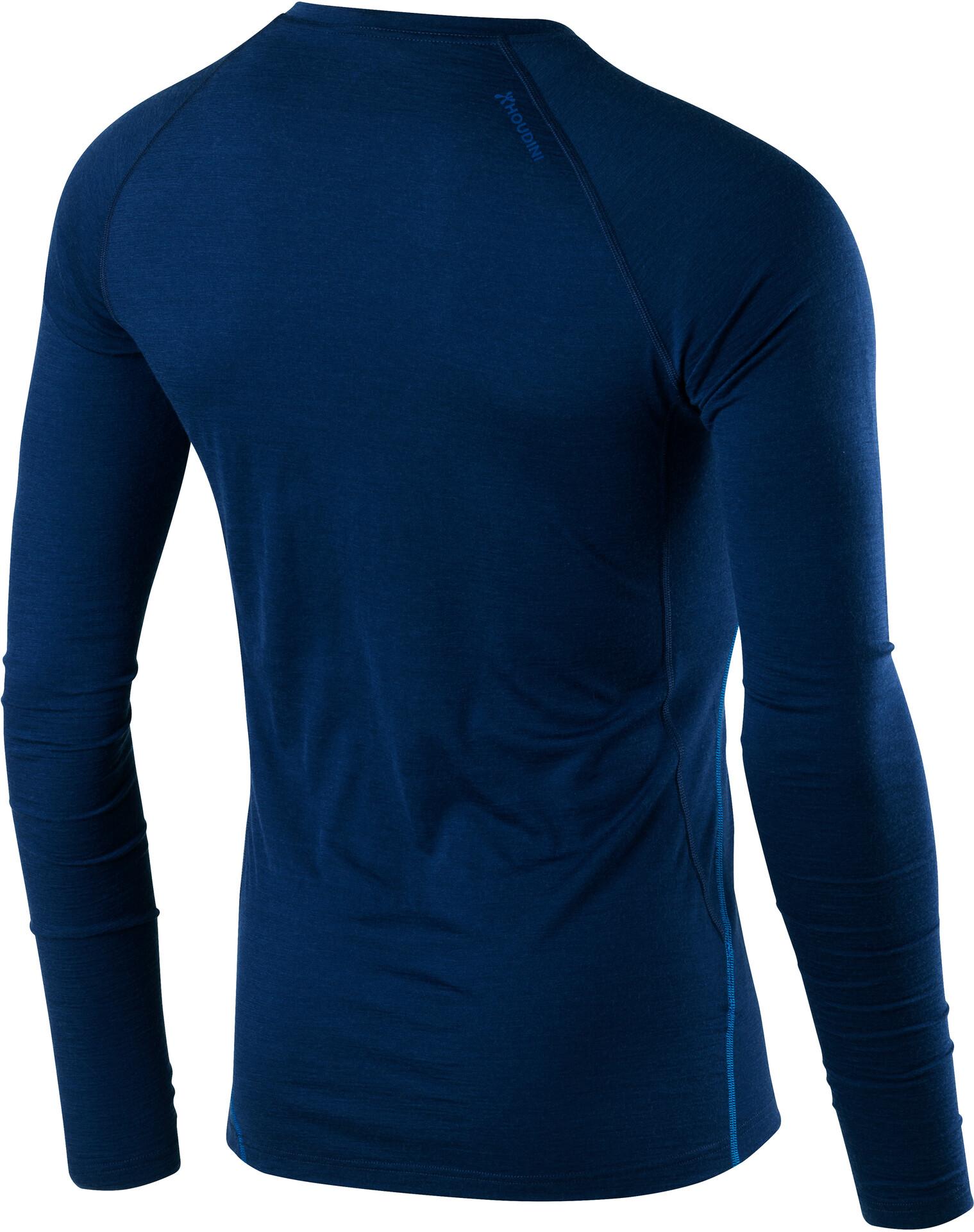 Houdini M's Desoli Crew Shirt Shirt Shirt Canyon Blå (2019) 0f18d4